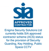 SIA Approved Contractor Scheme